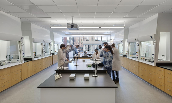 Classroom, Engeineering, Lab Building at Wentworth Institute of Technology: Boston MA, Architect: Leers Weinzaple Associates