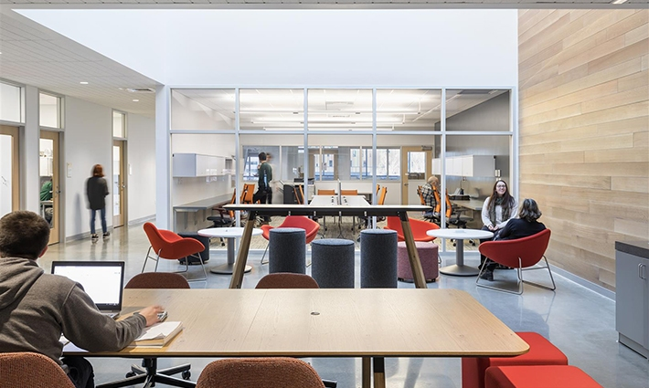 Classroom, Engineering, Lab Building at Wentworth Institute of Technology: Boston MA, Architect: Leers Weinzapfel Associates