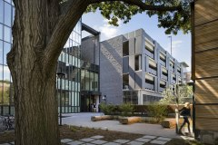 Subject, Location: New Haven CT, Architect: KieranTimberlake Associates LLP.  Yale University School of Art Sculpture Dept including studios, offices, workshops, exhibition hall and parking garage.